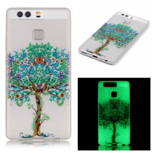 Noctilucent TPU Protective Cover for Huawei P9 - Unique Tree