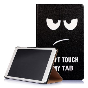 Magnetic Leather Smart Cover for Huawei MediaPad T2 10.0 Pro - Do Not Touch My Tab