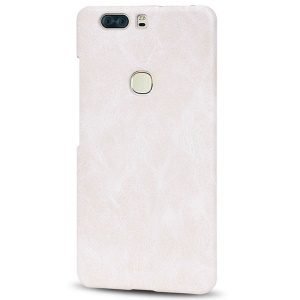 MOFI PU Leather Coated PC Cover for Huawei Honor V8 - White