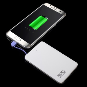 CUBE E20 2000mAh Power Bank Built-in Micro USB Cable for Android Phones
