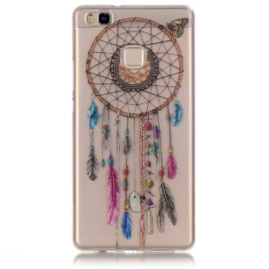 Clear IMD TPU Skin Case for Huawei P9 Lite / G9 Lite - Dream Catcher