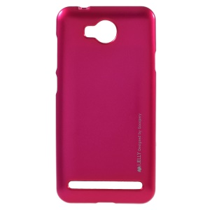 MERCURY GOOSPERY i JELLY TPU Cover Case for Y3II / Y3 II - Rose