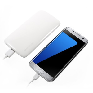 VORSON PEBBLE-8000 Pebble Shaped 8000mAh Power Bank - White