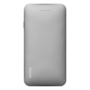 BASEUS Galaxy Series 5000mAh Power Bank Micro+Type C Inputs for iPhone iPad Samsung - Grey