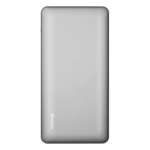 BASEUS 10000mAh Lightning 8Pin + Type-c Quick Charge 3.0 Power Bank for iPhone Samsung - Grey