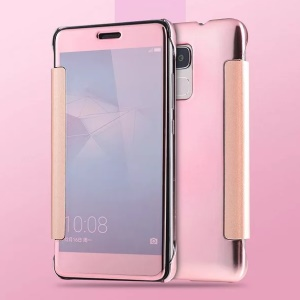 Electroplating PC Mirror Surface Case for Huawei Honor 5C / GT3 - Rose Gold