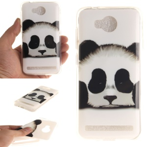 Soft IMD TPU Cover for Huawei Y3 II / Y3II - Adorable Panda