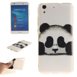 Protective IMD TPU Protector Case for Huawei Y6 II / Honor 5A - Panda