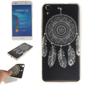 Protective IMD TPU Gel Cover for Huawei Y6 II / Honor 5A - Dream Catcher