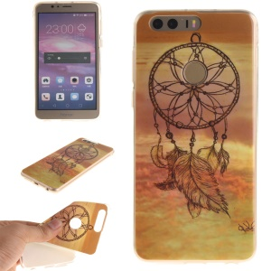 Soft IMD TPU Case Shell for Huawei Honor 8 - Sunset Dream Catcher