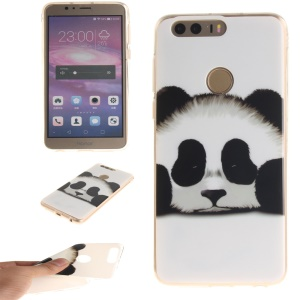 Soft IMD TPU Cover for Huawei Honor 8 - Adorable Panda