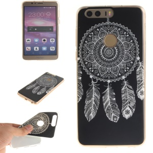 Soft IMD TPU Gel Cover for Huawei Honor 8 - Dream Catcher