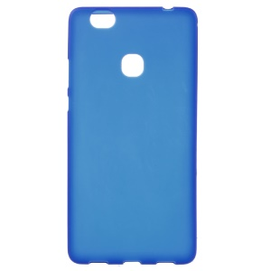 Supple Matte TPU Cover Case for Huawei Honor Note 8 - Blue