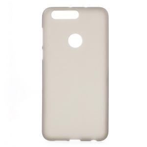 Frosted TPU Shell Cover for Huawei Honor 8 - Grey