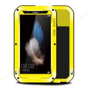 LOVE MEI Powerful Shockproof Snowproof Dirtproof Cover for Huawei Enjoy 5S / GR3 - Yellow
