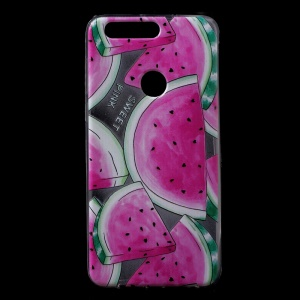 TPU Gel Patterned Back Shell for Huawei Honor 8 - Watermelon Pattern