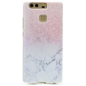 Flexible TPU Protective Case for Huawei P9 - Colorized Pattern