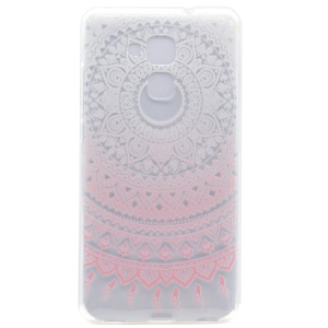 Pattern Printing Soft TPU Case for Honor 5C / GT3 - Mandala Flower