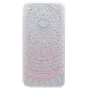 Patterned TPU Protective Case for Huawei Honor 8 - Mandala Flower