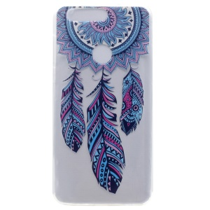 Patterned Soft TPU Case Cover for Huawei Honor 8 - Tribal Dreamcatcher