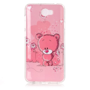 Soft IMD TPU Protective Case for Y5II / Y5 II - Adorable Bear