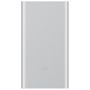 XIAOMI Mi Power Bank 2 10000mAh Capacity Support Two-way Fast Charge for Xiaomi iPhone Samsung - Silver