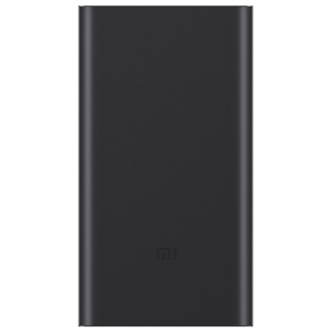 XIAOMI Mi Power Bank Pro Kit 10000mAh 18W Quick Charge Mobile Charger with Type-C + Micro USB Charging Cable for Xiaomi iPhone Samsung Pokemon Etc  - Black