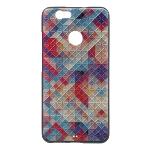 Embossed TPU Case for Huawei nova - Colorful Checkers