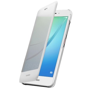 HUAWEI OEM Full View Window Smart Leather Case for Huawei nova - White