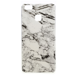 Marble Pattern Gel TPU Cell Phone Case for Huawei P9 Lite / G9 Lite - White