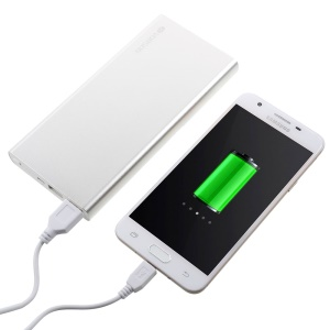 VORSON 15000mAh Dual USB Power Bank Battery Charger VY-015 - Silver