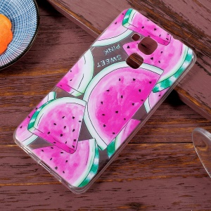 Patterned Soft TPU Phone Shell for Huawei Honor 5C / Honor 7 Lite / GT3 - Watermelon