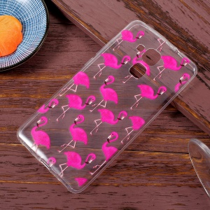 Patterned Soft TPU Phone Protector Shell for Huawei Honor 5C / Honor 7 Lite / GT3 - Crane