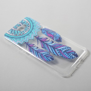 Ultra Thin Patterned TPU Case for Huawei Y6II Compact - Tribal Feather Dreamcatcher