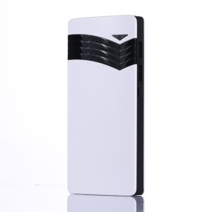 XIBONWE 8000mAh 2-port USB Output Power Bank for Phones Tablets - Black