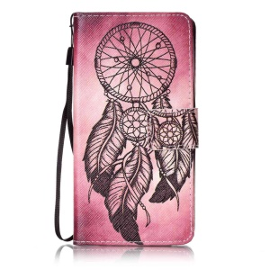 Wallet Leather Stand Case for Huawei Honor 5c / GT3 - Dream Catcher