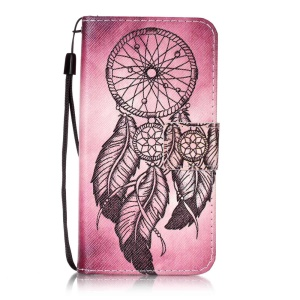 Wallet Leather Case Cover for Y3 II / Y3II - Dream Catcher