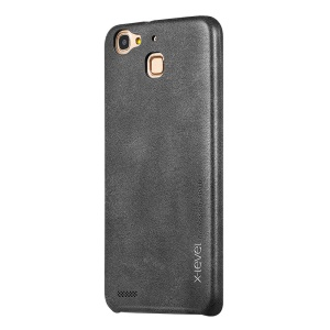 X-LEVEL Vintage Leather Coated Hard Cover for Huawei Enjoy 5S/ GR3 - Black
