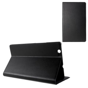 DOORMOON Smart Genuine Leather Stand Case for Huawei MediaPad M3 8.4 - Black