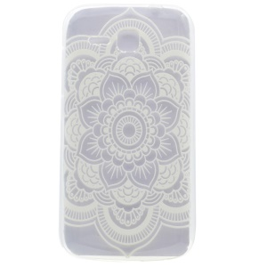 Pattern Printing TPU Case for Huawei Ascend Y600 - Mandala Flower