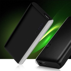 JOYROOM D-M145 Mild Light Portable Power Bank 6000mAh for iPhone iPad Huawei etc - Black