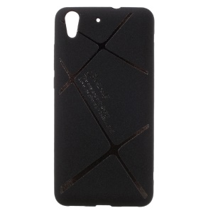 BOSILANG Frosted TPU Back Mobile Phone Case for Huawei Y6 II/Y6II/Honor 5A - Black