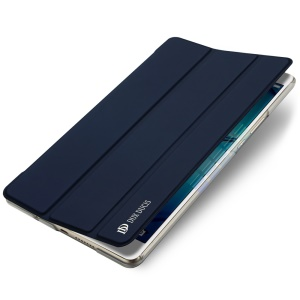 DUX DUCIS Skin Pro Series Tri-fold Stand Leather Protective Cover for Huawei MediaPad M3 8.4 - Dark Blue
