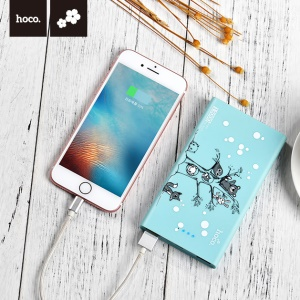HOCO 13000mAh Cute Mouse Mobile Power Bank Dual USB (JP.11-13000) - Joyous Starry Sky