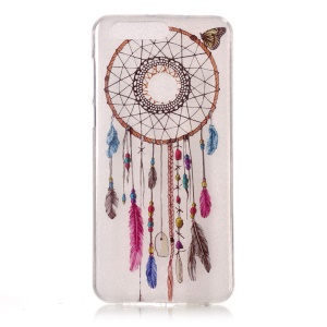 Pattern Printing IMD Soft TPU Case for Huawei Honor 8 - Dream Catcher