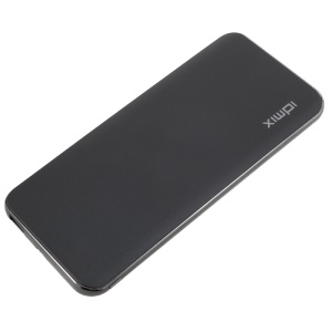IDMIX Q10 10000mAh Quick Charge 3.0 Dual USB Power Bank with Type-C Port - Black