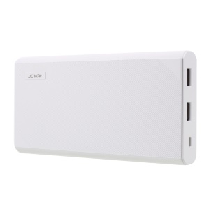 JOWAY JP-118 20000mAh 2-Port USB Mobile Power Bank for Cell Phone Tablet