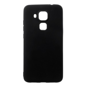 Ultra Thin Solid Color Matte TPU Case for Huawei Nova Plus / G9 Plus / Maimang 5 - Black