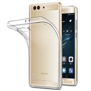 IMAK Stealth Clear Soft Case TPU Phone Cover for Huawei P10 Plus - Transparent
