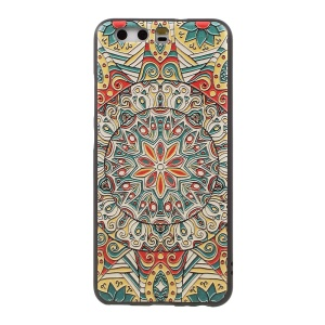 Embossed TPU Protective Case for Huawei P10 - Mandala Pattern